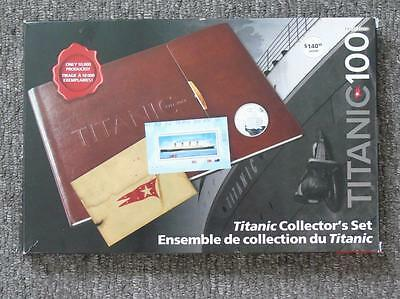 Titanic Collector's Set Canada Stamps & Coins & Share Certificate, Ltd Edition