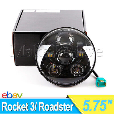 5.75Inch LED Projection Daymaker Headlight For Harley Sportster XL 883 1200 Dyna