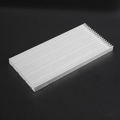300x140x20mm Aluminum Heat Sink Cooling For LED Power IC Transistor Heatsink eml