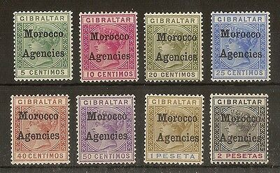 Morocco Agencies 1898 Opts on Gibraltar Cat£124