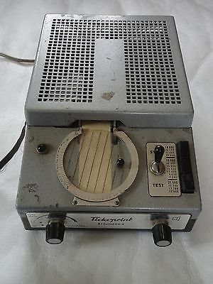 Tickopoint Watch Timing Machine. Spares Or Repair