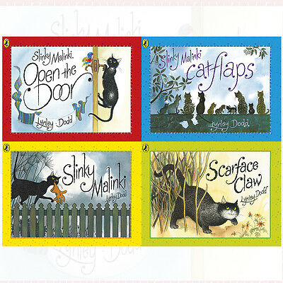 Hairy Maclary and Friends Series 4 Books Collection Pack Set By Lynley Dodd NEW