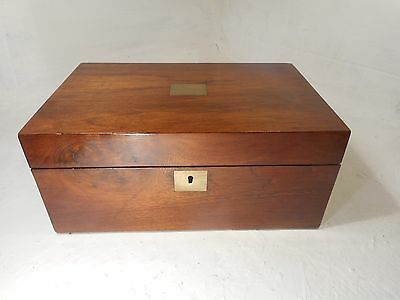 Antique Walnut  Writing Slope Box ,   ref 3078