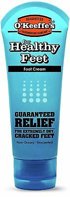 O'Keeffe's Healthy Feet Foot Cream for Cracked/Split Skin Non-Greasy - 3oz (85g)