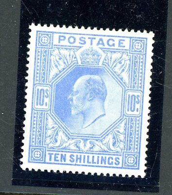 Great Britain 1902  10s Value  (SG 265)     unmounted MINT     (J1473)