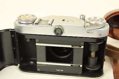 Vintage Wirgin Edixa  35mm Film Camera with case  ##BUR63JWG