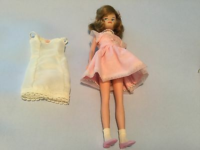 Vintage American character Cricket Tressy doll in  sugar n spice outfit