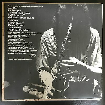 Sammy Rimington - Jazz At Quines UK 1978 LP Quines Recs (Private Press)