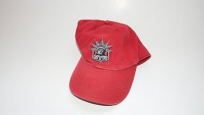 Nwt New Hat Cap New York Rangers Nhl Size Medium (7) Red