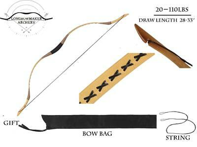 Traditional Ali Bow Handmade Hungarian Longbow Archery Hunting Recurve Bow