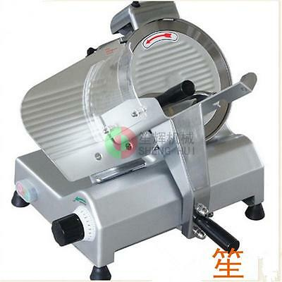 "NEW 250W 10"" Kitchen Deli Meat Slicer Electric 530RPM Cheese Food Slice Machine"