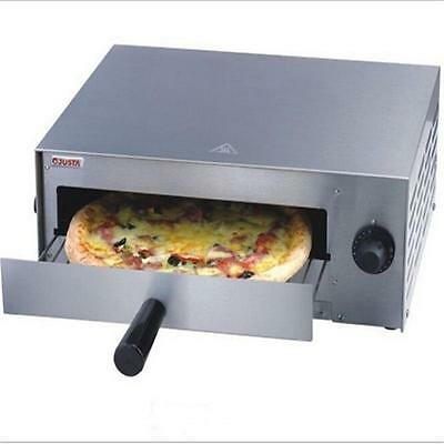 Kitchen Commercial Pizza Oven Stainless Steel Counter Top Snack Pan Bake New