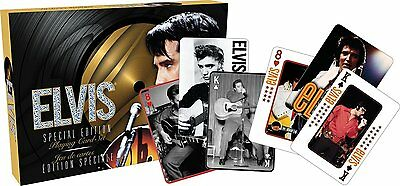 Elvis Presley double set of 52 playing cards (+ jokers) (nm)