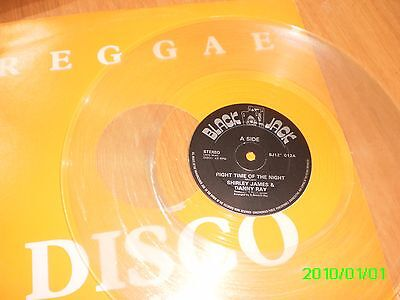 "Shirley James & Danny Ray - Right Time Of The Night - 12"" Single - Clear Vinyl"