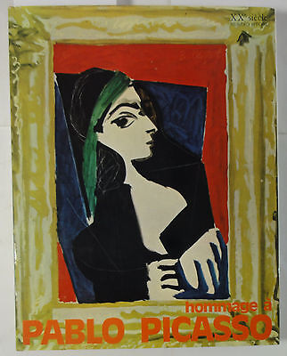 XX Siecle Nr. special: Orig.-Lithographie von Picasso (W)