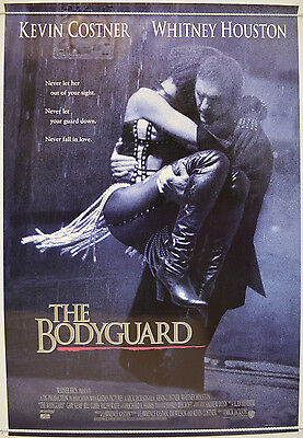 THE BODYGUARD (1990) One Sheet Film Poster - Kevin Costner, Whitney Houston