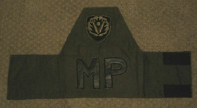 US Army   (MP)   Armband with Army  patch
