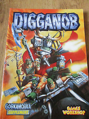 Warhammer Digganob A Gorkamorka Supplement Rpg Gdw Vgc Book Only  Gw