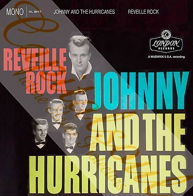 50S Rock 'n' Roll London Johnny & The Hurricanes Reveille Rock Picture Sleeve