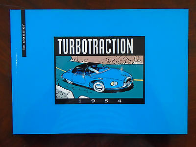 Franquin - Aroutcheff - Le Dossier Turbotraction + Supplements - Eo 2000 - Neuf