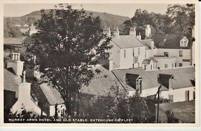 RP 1956 GATEHOUSE-OF-FLEET - Murray Arms and Old Stable, houses, all from above