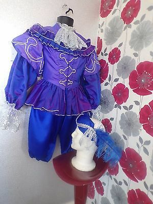 Quality Hand Crafted Medieval/toudor Style 4 Piece Unisex Outfit Size S