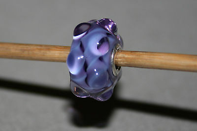 Original Trollbeads - Purple Waters Event Bead - Limited Edition Unique OOAK