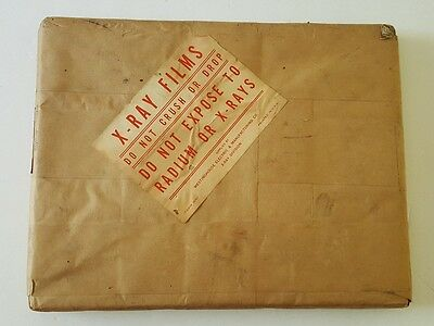 Vintage NOS Westinghouse X-Ray Films 8x10 Unopened Medical Supplies