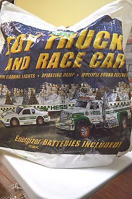 2011 Hess Truck and Race Car - Mint in Box