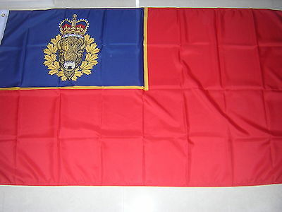 British Empire Flag Royal Canadian Mounted Police RCMP 1991 - now Canada Ensign