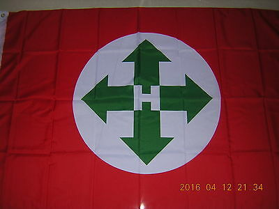 NEW reproduced Flag the Arrow Cross Party 1942 - 1945 H  Hungary Ensign 3X5ft