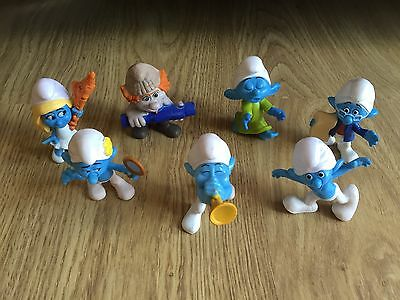 Smurfs Figure Collection X 7