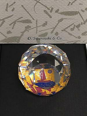 SWAROVSKI Paperweight Rotary International Convention Barcelona Spain 2002 w Box