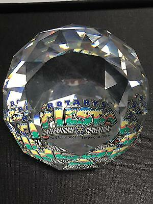 SWAROVSKI Paperweight Rotary International Convention SAN ANTONIO TEXAS w Box