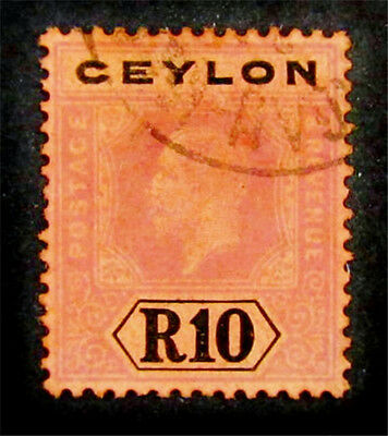 nystamps British Ceylon Stamp # 213 Used $105