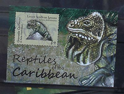 Reptilien Block Grenada Carriacou  ** 47  2