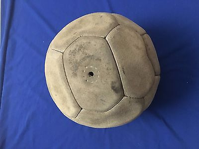 Vintage&original Power Peru Leather Ball Soccer Number 5 Official Ball 18 Panels