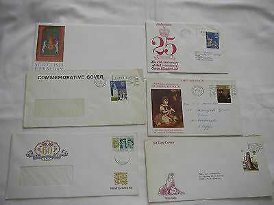 Various First Day Covers.