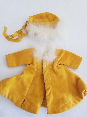 1950's Vogue Ginny Tagged Velvet Coat and Hat