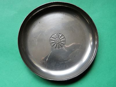 Round Table Association  Pewter Coaster Dish by Culfonia