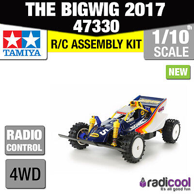 New! 47330 TAMIYA THE BIG WIG 1/10th SCALE OFF ROAD RADIO CONTROL BUGGY KIT