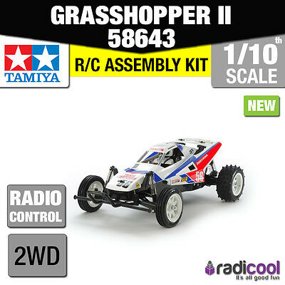 New! 58643 TAMIYA GRASSHOPPER II 2017 RE-RELEASE 1/10th SCALE RADIO CONTROL KIT