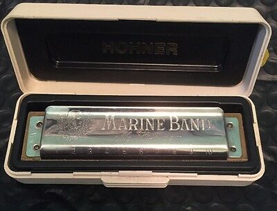 Marine Band no. 1896 Harmonica