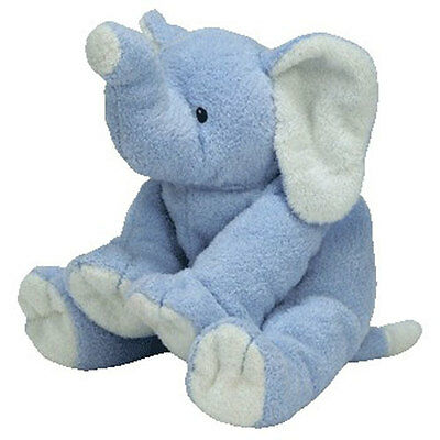 Baby TY - BABY WINKS BLUE the Elephant (10 inch) - MWMTs Stuffed Animal Baby Toy