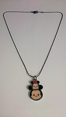 DISNEY TSUM MICKEY & MINNIE MOUSE Inspired NECKLACE Party Bag Gift