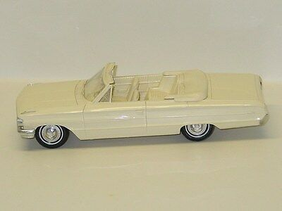 Vintage Plastic 1964 Ford Galaxie 500 XL Convertible Dealer Promo Car
