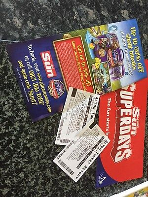 Two Tickets To Alton Towers Resort/ School Holidays. 7th August 17