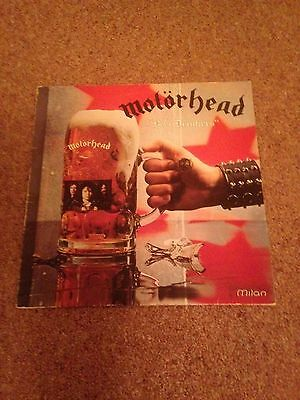 motorhead beer drinkers and hell raisers  1983 french import  S.P.I. Milan ‎