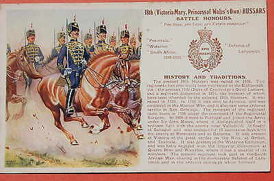 The 18th Hussars: Battle Honours