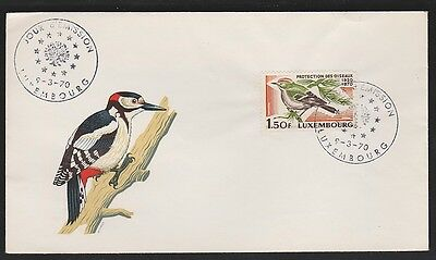 Luxembourg  BIRDS 487  1.50F 1970